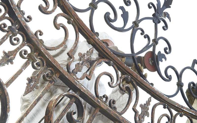 ristrutturazione cancelli in ferro battuto