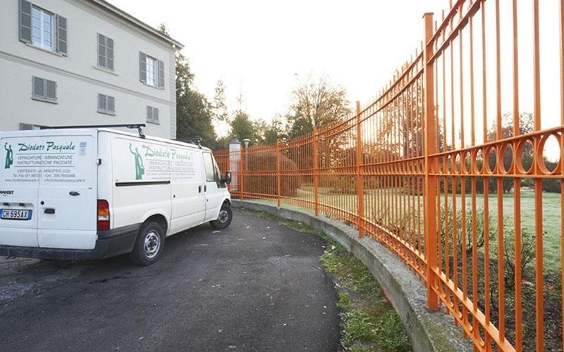 colorazione recinzioni esterne