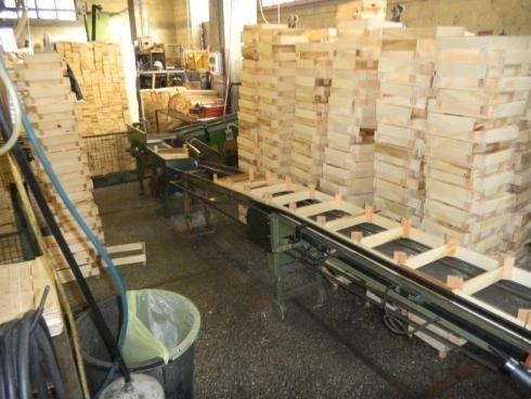 Produzione imballaggi in legno