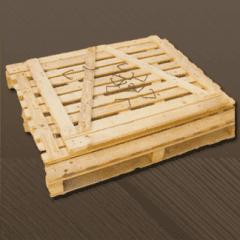 gabbia in legno richiudibile