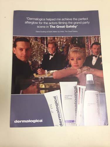 Product advertisement leaflet