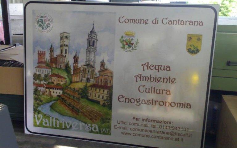 Cartello turistico