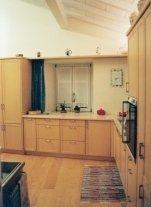 Nardelli franco falegnameria cucina lineare in legno