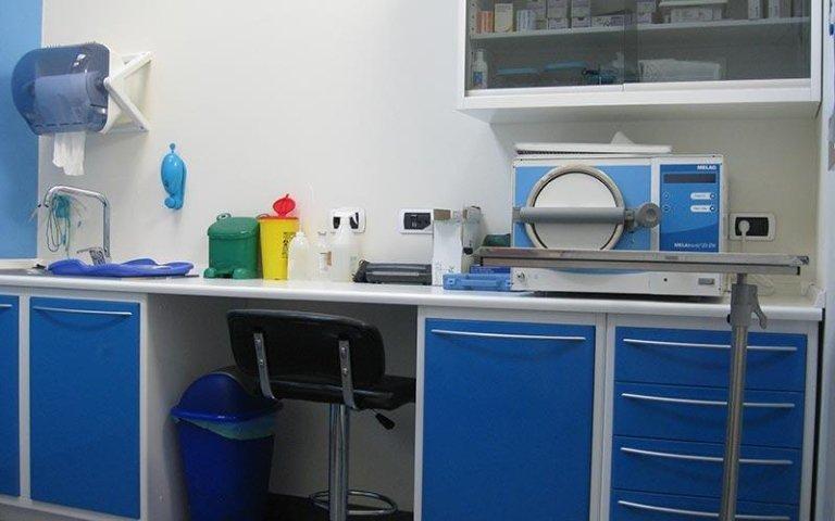 Sala operatoria veterinaria