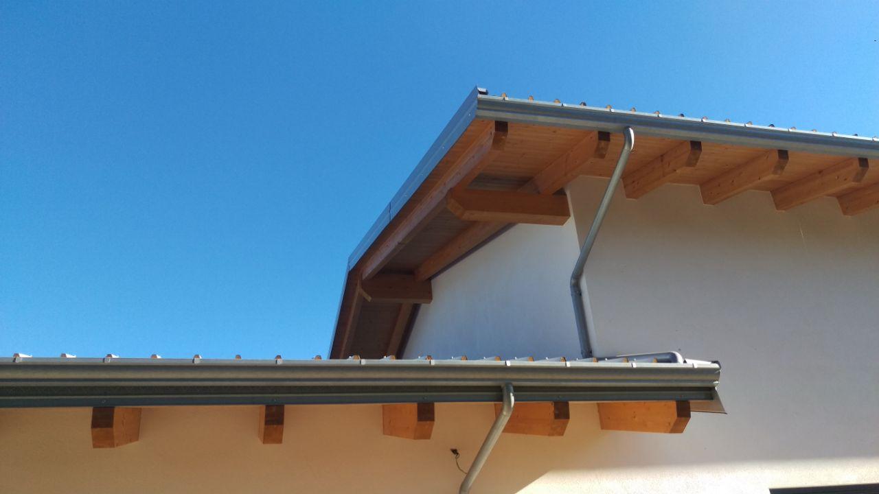 tetto visto da sotto