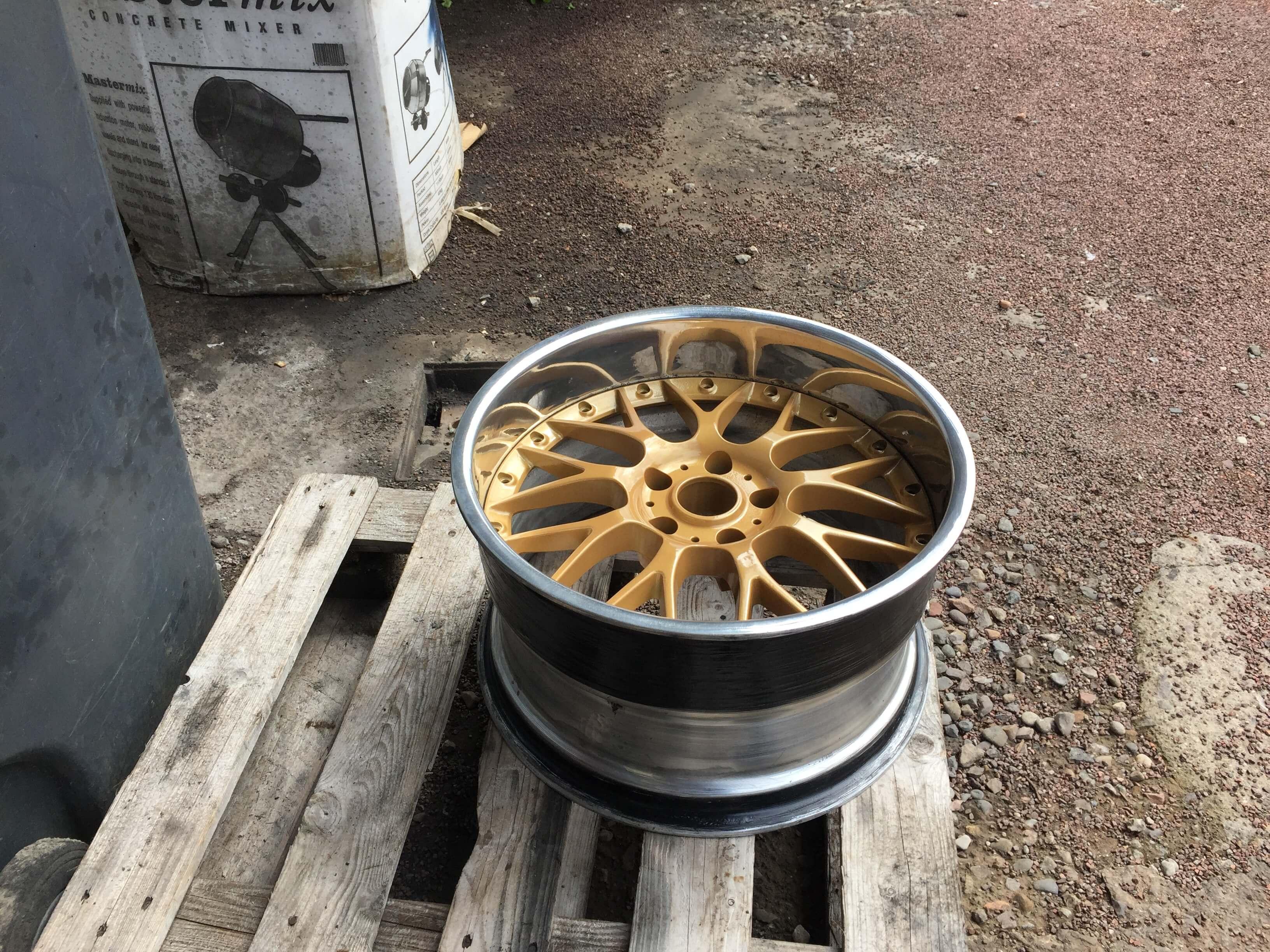 squashed wheel 15