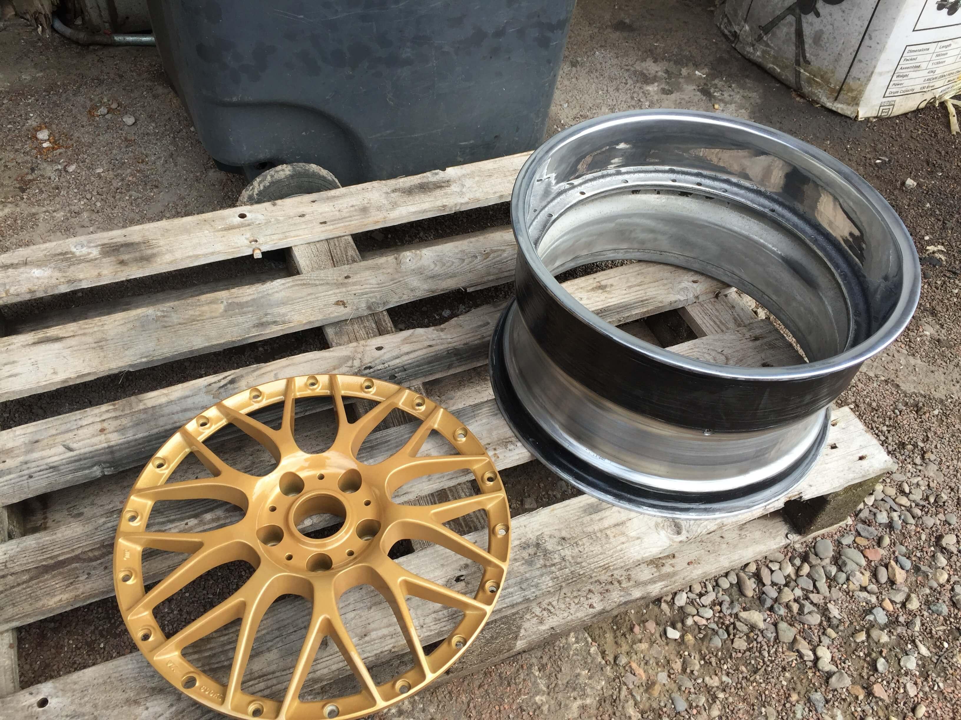 squashed wheel 16