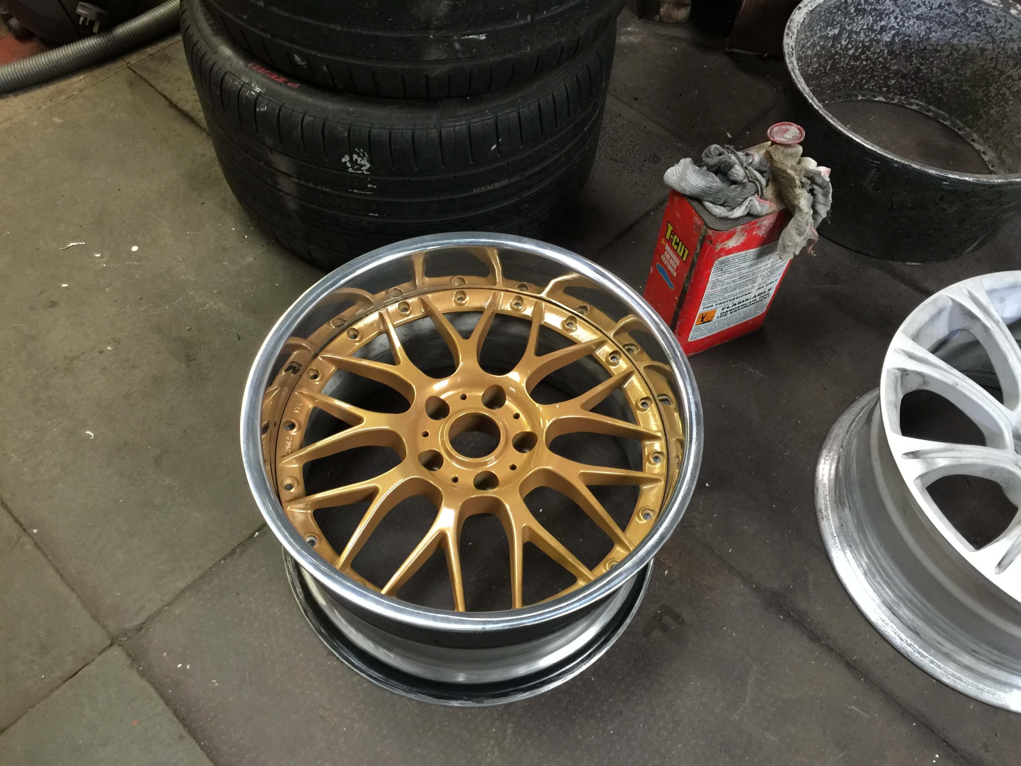 squashed wheel 18