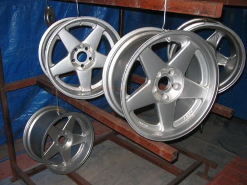 repaired wheels