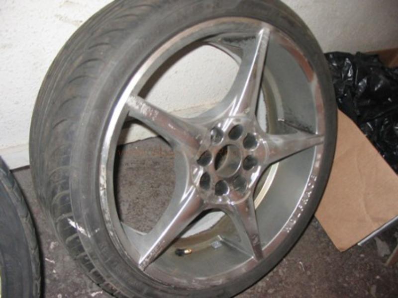 tyre and wheel repairs