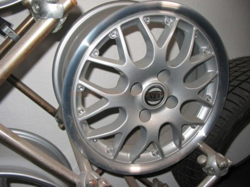 alloy repaired wheel
