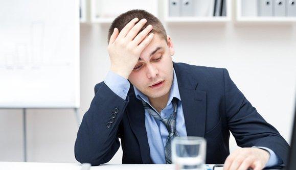 corporate individual feeling fatigued