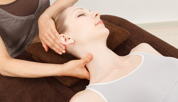 neck treatment for woman