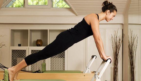 woman during her workout session
