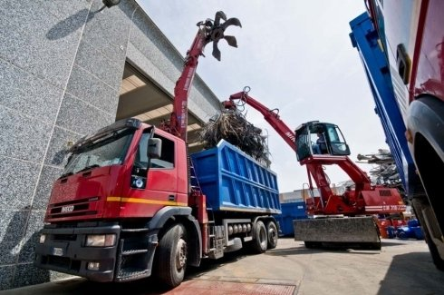 Raccolta di rifiuti industriali