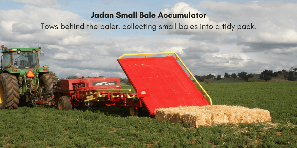 Small Bale Accumulator