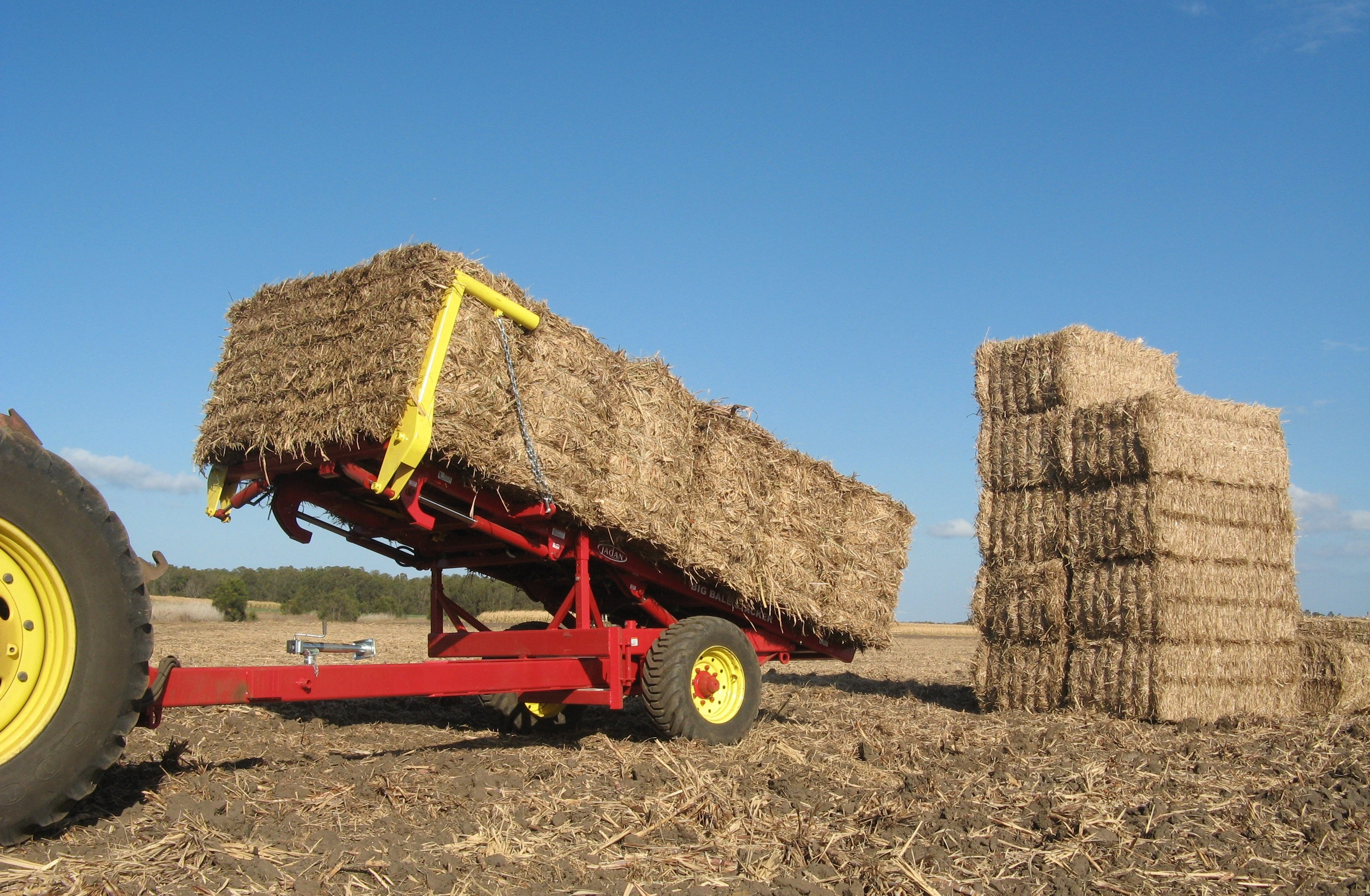 Big Bale Stacker