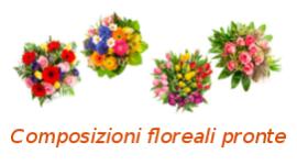 composizioni floreali pronte