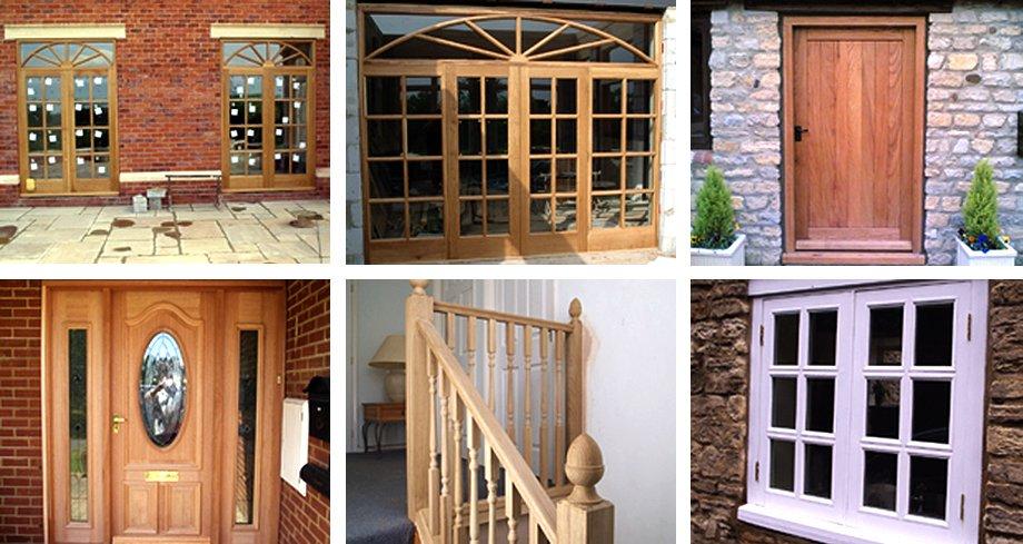 a wide range of doors