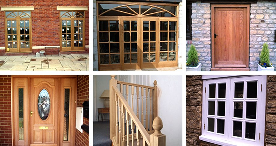 a wide range of doors