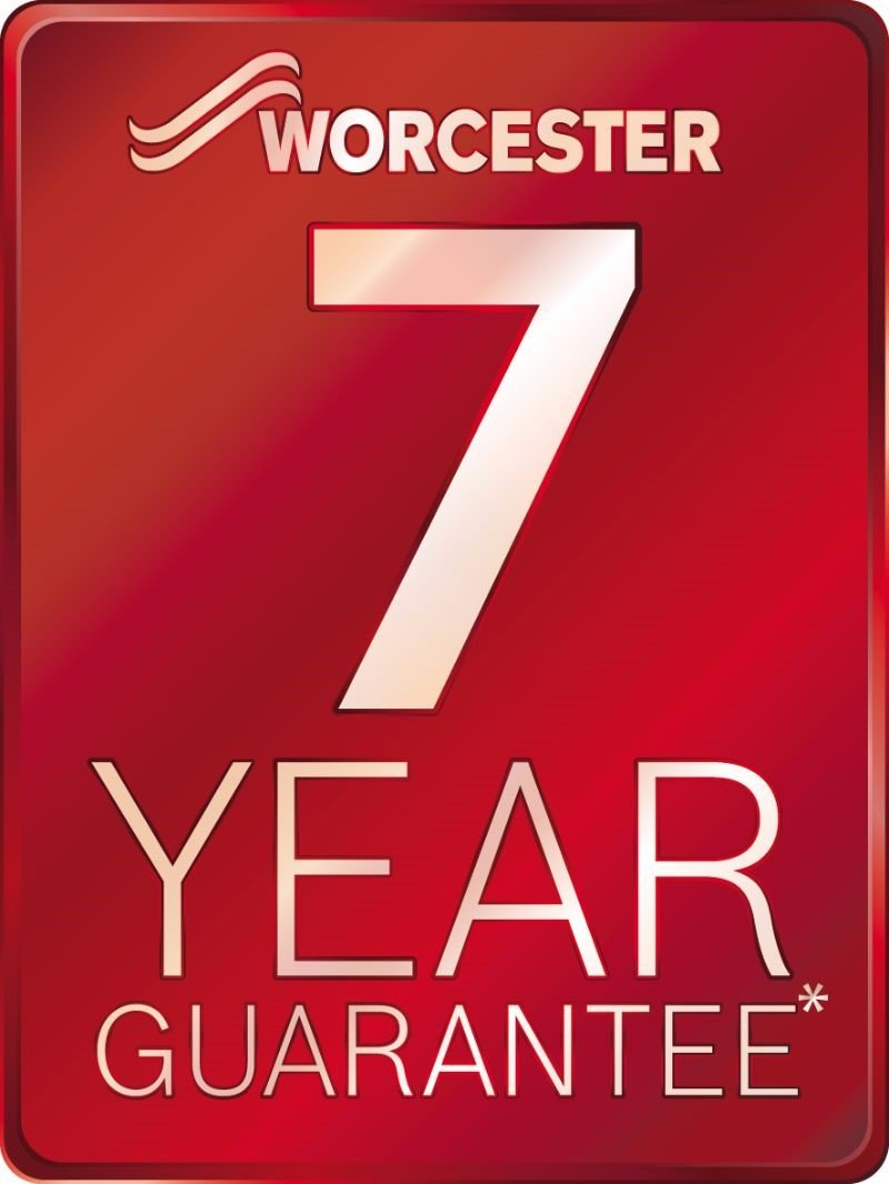 Worchester 7 year guarantee logo