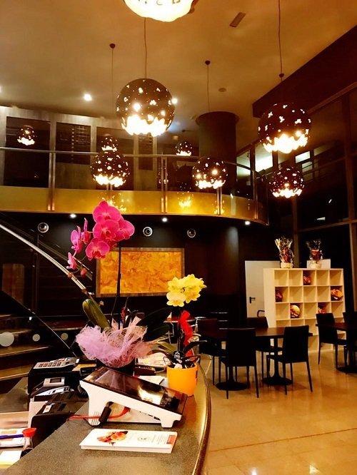 Panoramica del ristorante giapponese