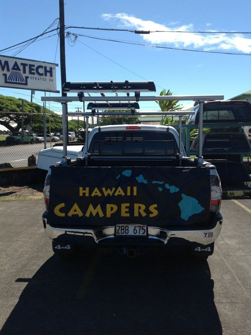 TRUCK AND CAR RACKS IN HILO, HI
