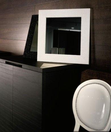 specchio laccato