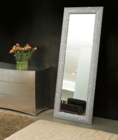 Specchiera-da-terra-modello-Gemme-finitura-argento-192x72-cm