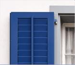 persiane in legno-alluminio, tapparelle automatizzate