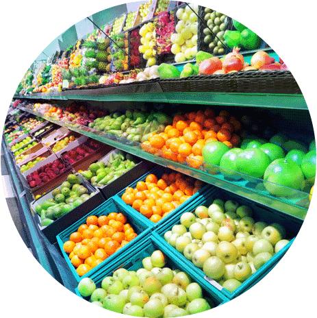prodotti ortofrutticoli di qualità, frutta e verdura