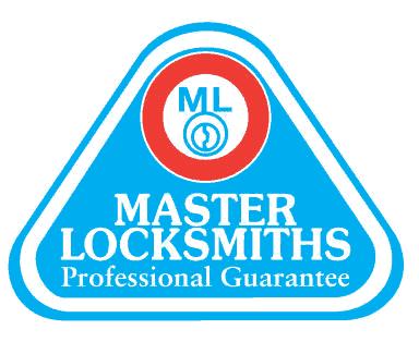 master locksmiths logo