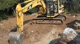 demolizioni di roccia
