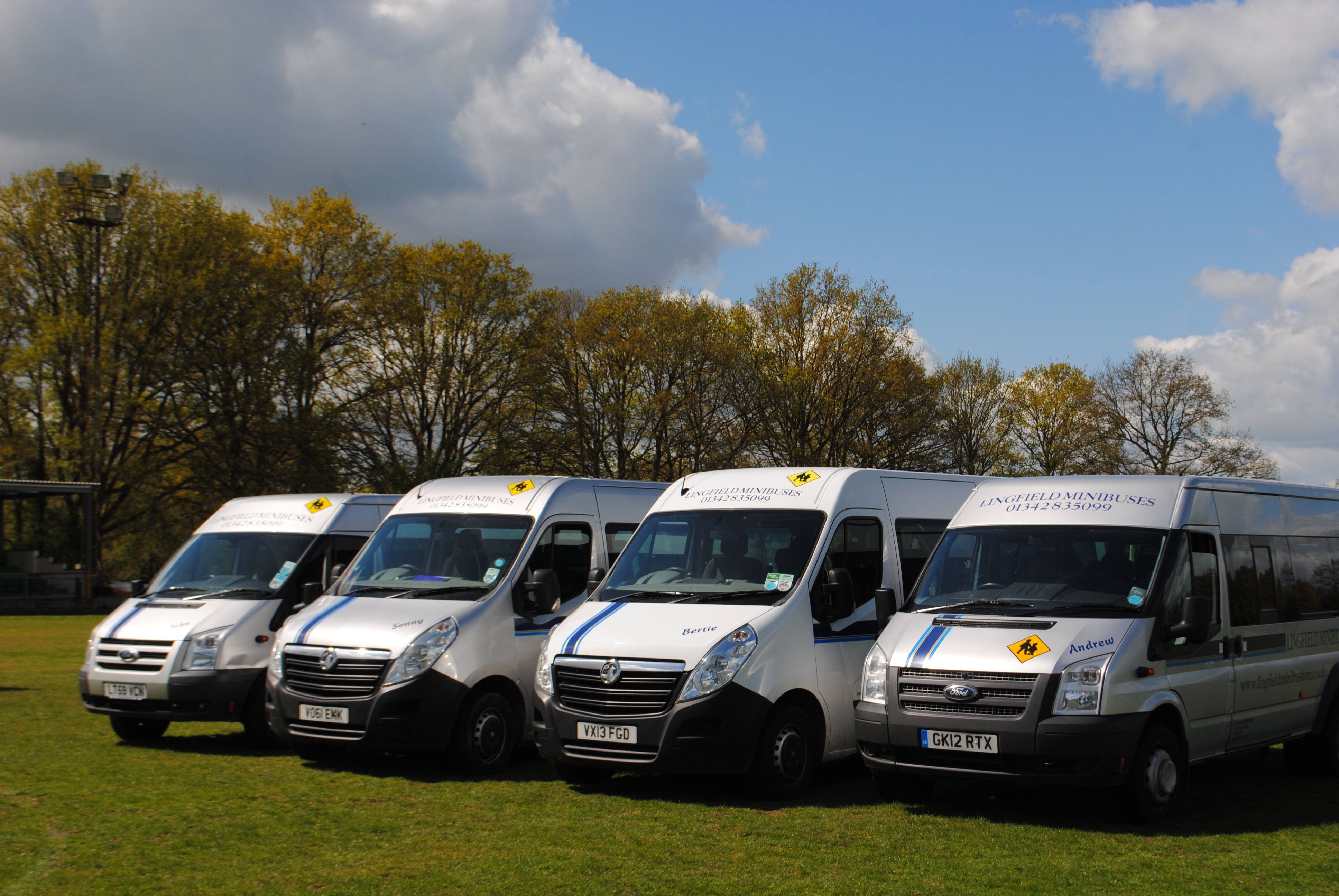 special occasions hire minibuses