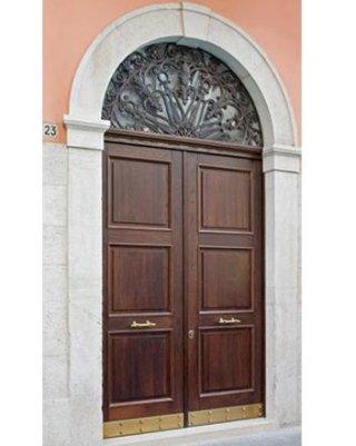 Porta blindata stile antico