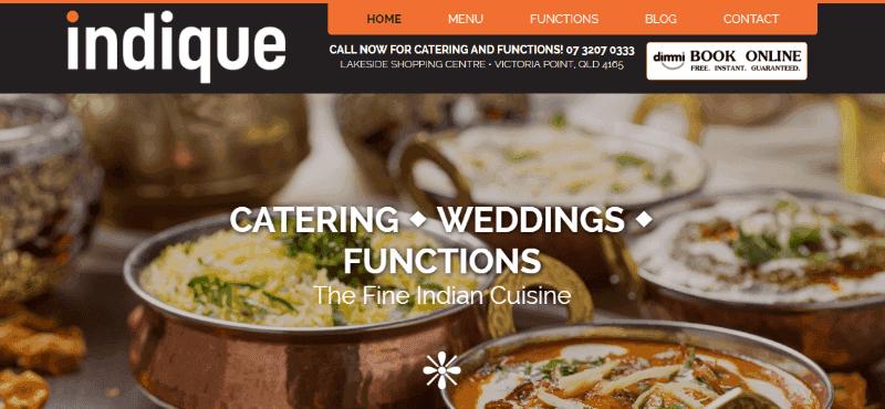 Indique Indian Restaurant Victoria Point Qld