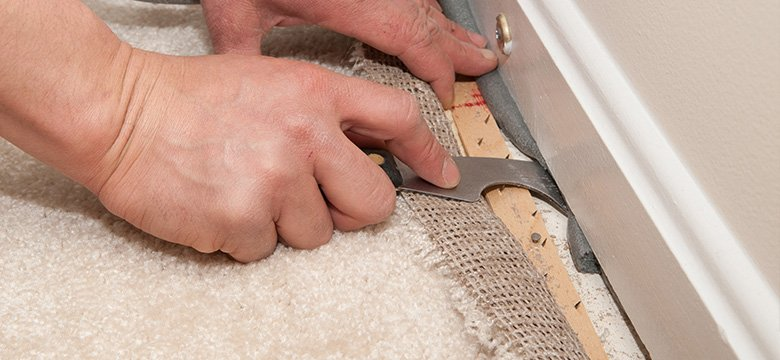 Carpet re-stretching and laying services in Adelaide