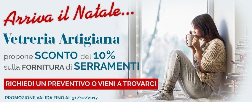 Promozione Serramenti sconto 10%
