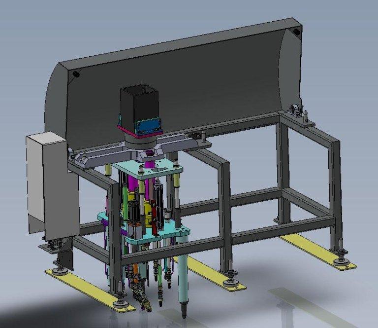 Tool stand per pinza robot
