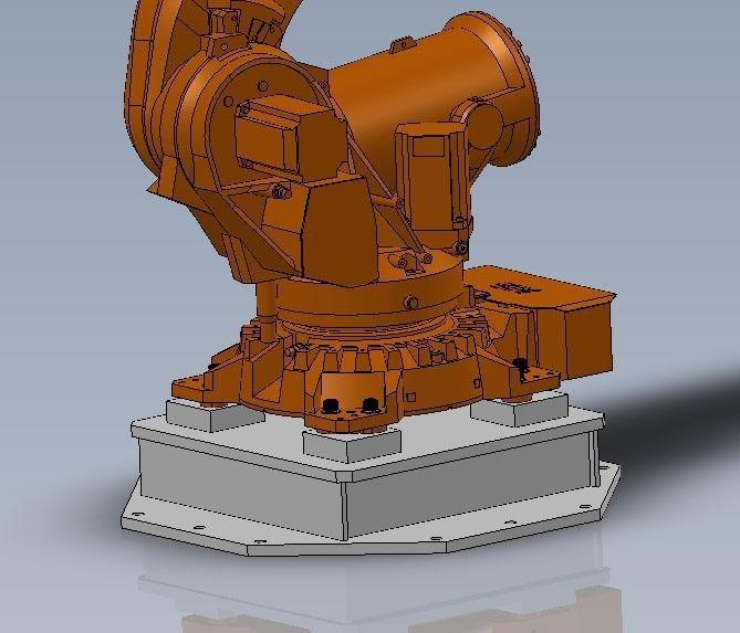 Basamento robot