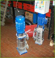 riparazione pompe sommerse