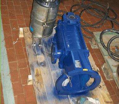 riparazione elettropompe
