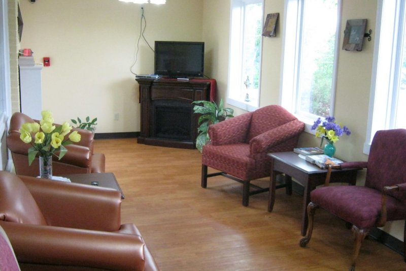 open waiting room