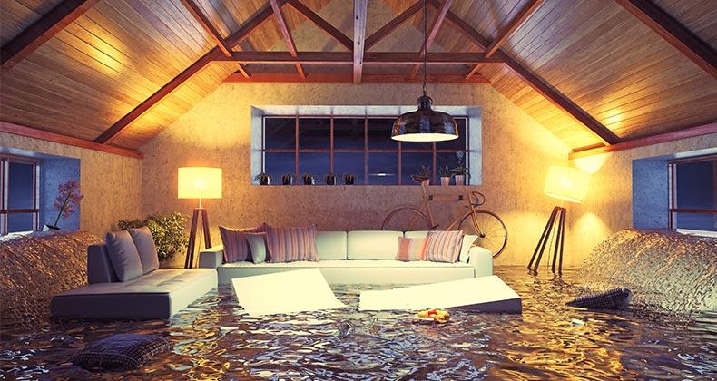 flood water damage, water damage Miami