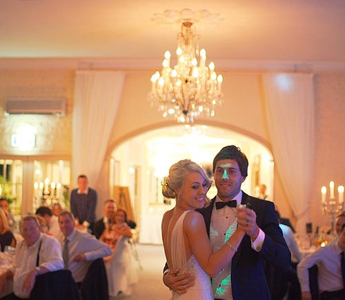 the perfect first dance song from a great wedding dj.
