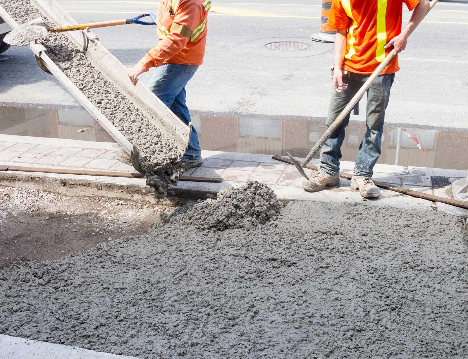 high-quality concrete services