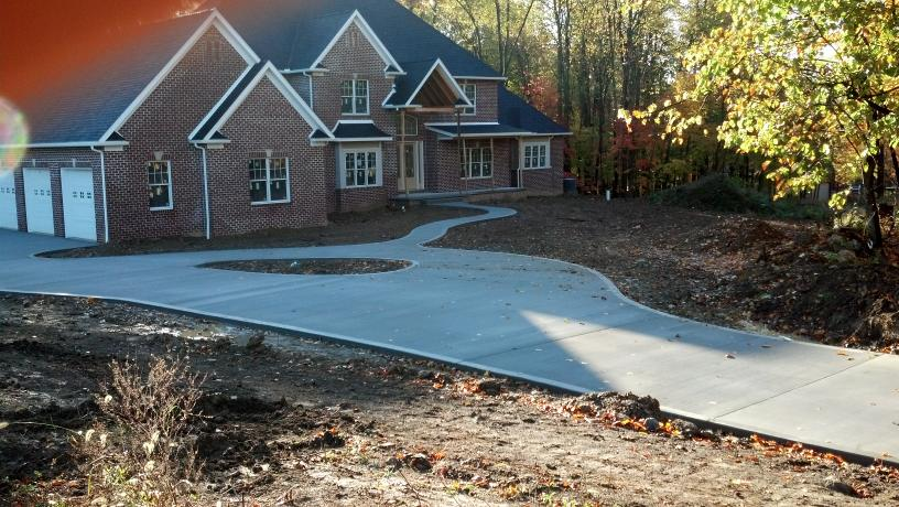 Professionally crafted concrete for properties