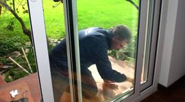 realizzazione porte a vetro