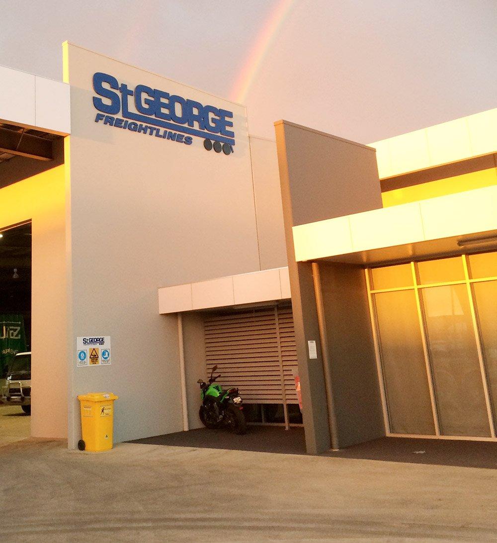 St George Freightlines' Head Office
