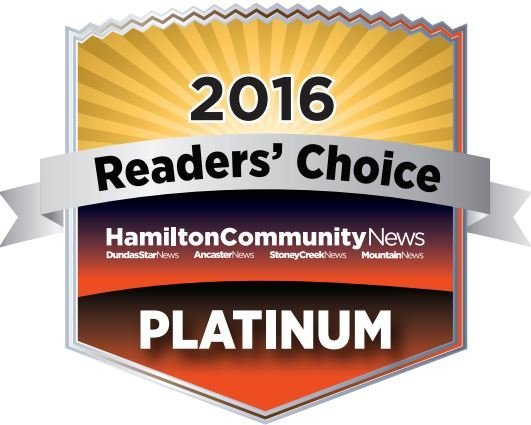 Reader's Choice top roofer in Hamilton